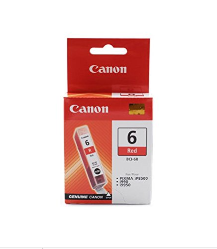 (Canon BCI-6R Red Ink Tank)
