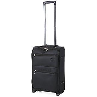 Aerolite Juego de maletas, negro (Negro) – AERO9980 Black 21″/29″