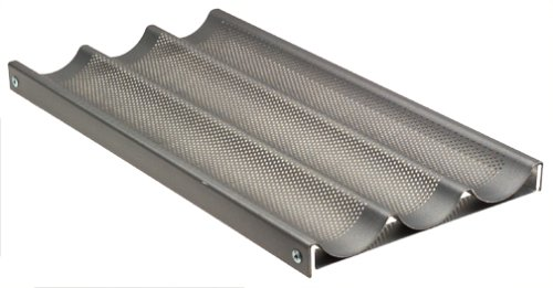 Chicago Metallic 69609 Professional Nonstick Perforated Baguette Pan