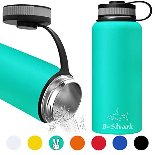 Shop Red Radish 32 Oz Water Bottle – Double Wall Vacuum Stainless Steel Water Bottle, Leak Proof Sports Water Bottle with Wide Mouth for Camping Travel, Thermos for Home, Office Outdoor