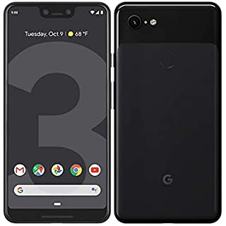 Google Pixel 3 XL G013C Unlocked 64GB 4G LTE Smartphone - Just Black (Renewed)