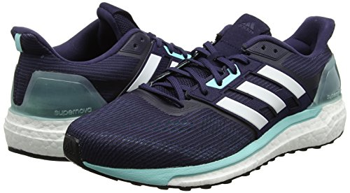 Adidas White Running noble Comptition Aqua Chaussures Bleu energy Ink De footwear Supernova Femme BqrBS