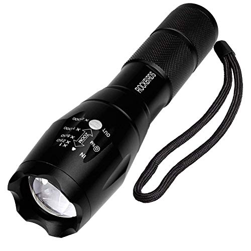 RockBirds Tactical Flashlight (T6 1PACK)