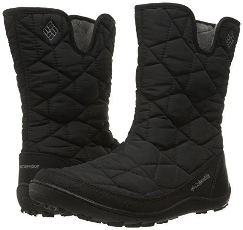 Columbia Women's Minx Slip II Omni-Heat Snow Boot, Black/Quarry, 8.5 B US by Columbia (Image #6)