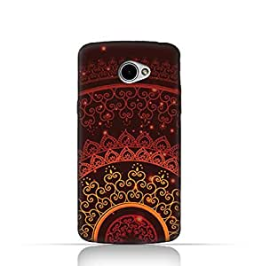 LG K5 TPU Silicone Case With Colorful Henna Mandala Design