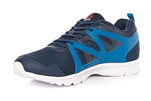 Reebok Run Supreme 2.0, Zapatillas de Running Para Hombre Azul (Coll Navy / Instinct Blue / White)