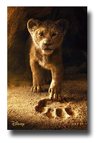 Lion Paw Prints - Lion King Live Action Poster Movie Promo 11 x 17 inches Paw Print