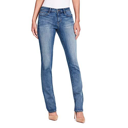 Skinnygirl Women's Straight Leg Jean in No Sweat Tech + Climate Control, Cabrini, 26