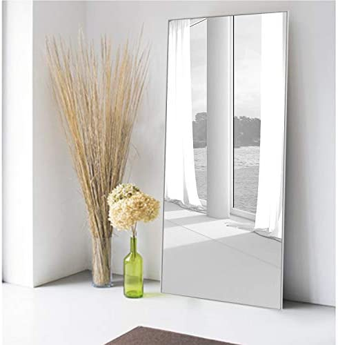 MIRUO Full Length Mirror Decor Wall Mounted Mirror Floor Mirror Dressing Mirror Make Up Mirror Bathroom/Bedroom/Living Room/Dining Room/Entry