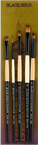 Dynasty Brush (Black Gold by Dynasty - BG-6 Brush Set)