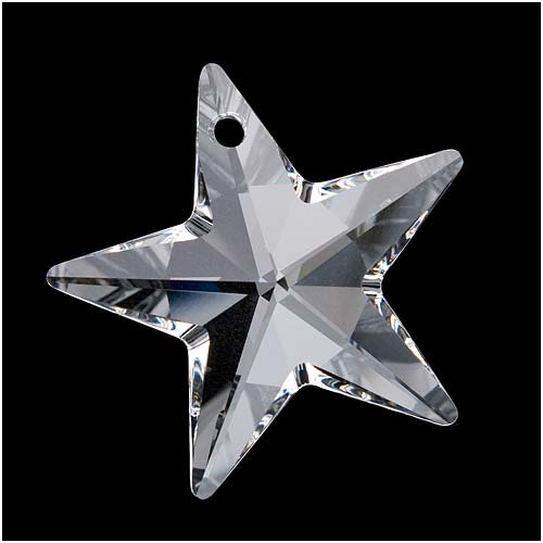 SWAROVSKI ELEMENTS Crystal #6714 Star Pendant Bead Crystal 40mm (1)