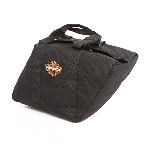 Harley Davidson Slant Saddlebag Liner, Black - Saddlebag Luggage