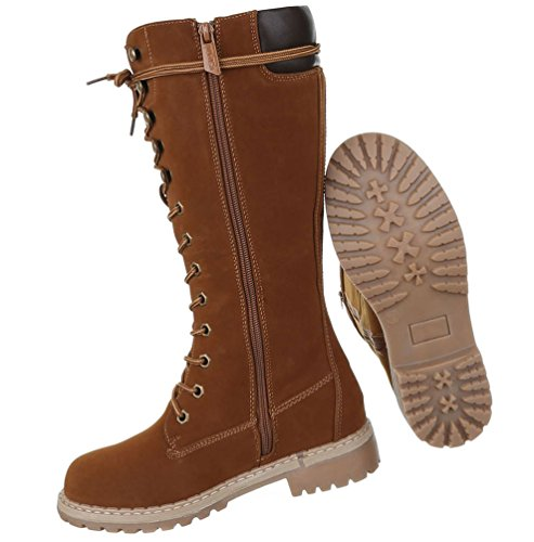 Schnürer Camel 36 Boots 41 Braun 39 Stiefel Braun Schuhe 37 38 Damen 40 Schwarz xEHFqYx0