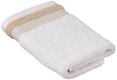 Kassatex Fine Linens Savile Towels - Made of 100% fine ring spun cotton; 600 GSM Intricately detailed combining chic herringbone with bold colors Includes a sewn in hanger loop - bathroom-linens, bathroom, bath-towels - 41AEUhsd3ZL -