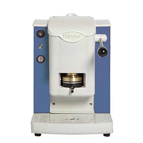 Colore Blu Vintage con finiture Grigio Faber Italia Faber Slot Plast Macchina da Caff/è a Cialde 44 MM ESE