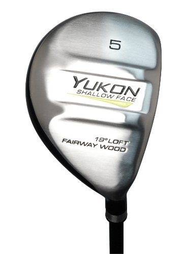 Pinemeadow Yukon 5+ Fairway Woods (Right-Handed, Graphite, Men's) (Adams Tight Lies 5 Iron)