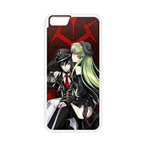 Code Geass iPhone 6 Plus 5.5 Inch Cell Phone Case White TPU Phone Case SY_782852