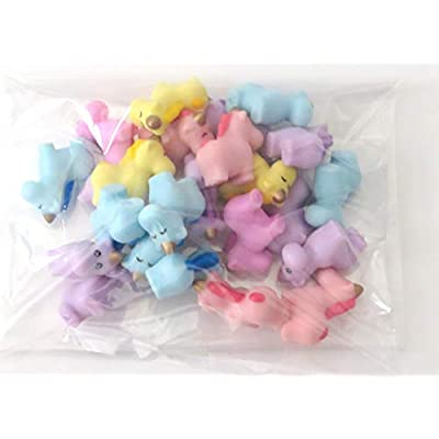 Edison Novelty Bunch of Baby Unicorns Assorted Pastel Colors (24): Toys & Games