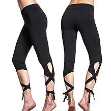 Tenworld Women Gym Yoga Workout Leggings Fitness Lounge Athletic Pants