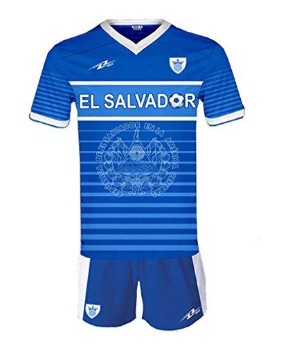 Uniform El Salvador Local Arza color blue white For Kids (4)