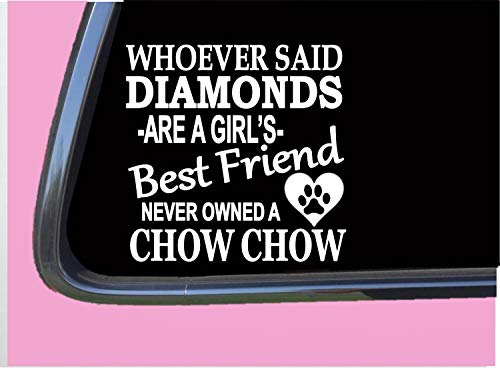 - Chow Chow Diamonds TP 461 Sticker 6