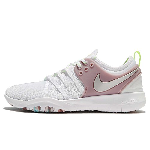 Free White Metallic White Silver Elemental 7 Nike Volt Women's 102 Tr WMNS Trainers Rose Glow FWqCECwU