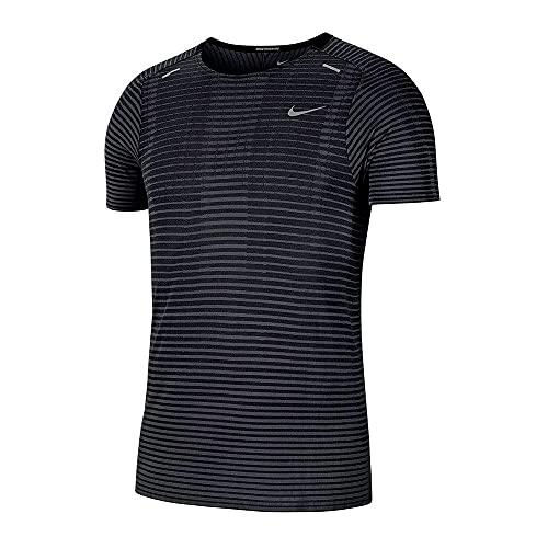 Nike TechKnit Ultra Men's Running Shorts Sleeve Top T-Shirts CJ5344-010