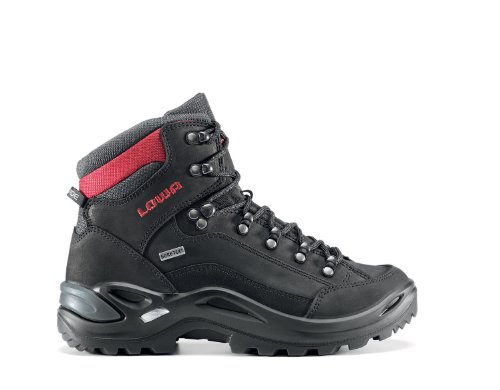 LOWA Renegade GTX Mid Women Outdoor Schuhe grau-mint - 41