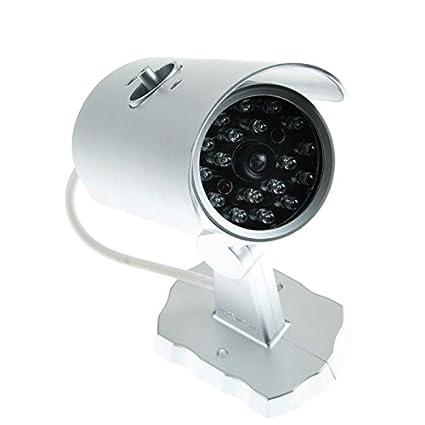 GIZGA® Realista Cámara de vigilancia virtual Movimiento Sensor CCTV Cam