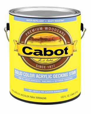 Cabot VOC Solid Color Oil-Based Decking Stain Cabot Deck Stain Colors