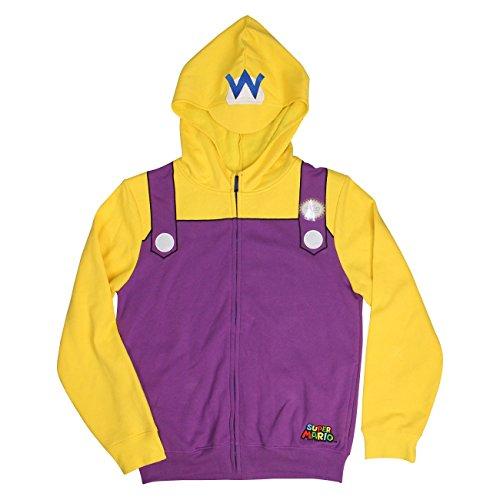 Nintendo Wario Adult Costume Hoodie