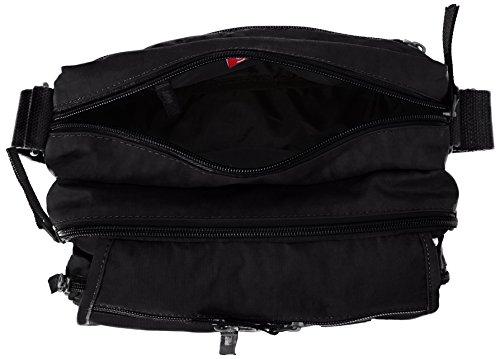 sintético mujer Bolso Shoulder Negro hombro Bag 50020 Artsac Negro al de WT70waqct8