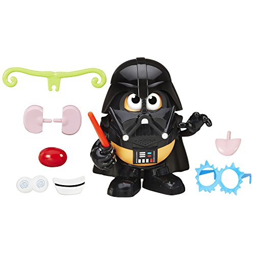 [Potato Head Darth Tater Container] (Extra Head Costume)