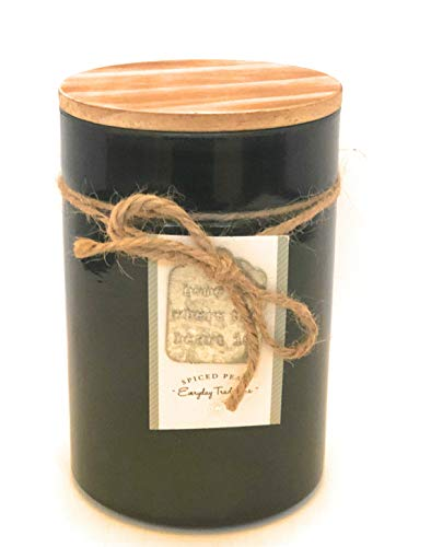 DW Home Everyday Traditions Spiced Pear Candle with Lid 16.8 Oz