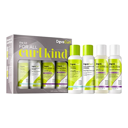 DevaCurl 3oz Kit For All Curl Kind, 4 Piece ()