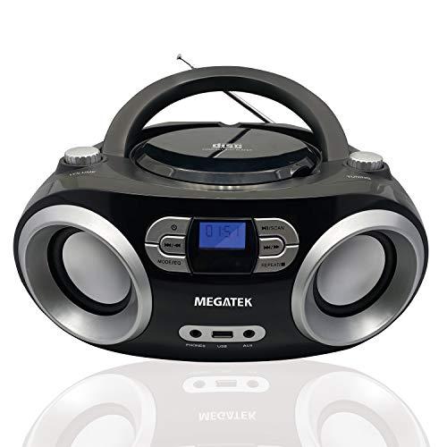 🥇 Megatek Portable CD Player Boombox