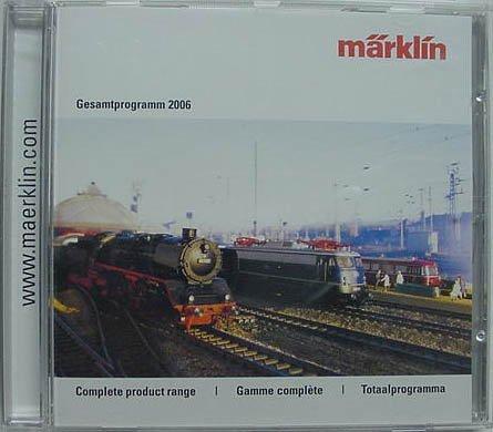 2006 Marklin CD Rom Catalog (includes HO - Marklin Catalog Shopping Results