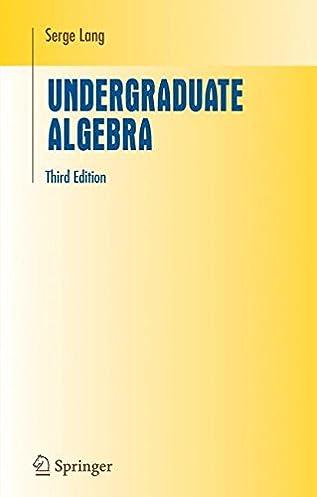 undergraduate algebra serge lang 9780387220253 books amazon ca rh amazon ca