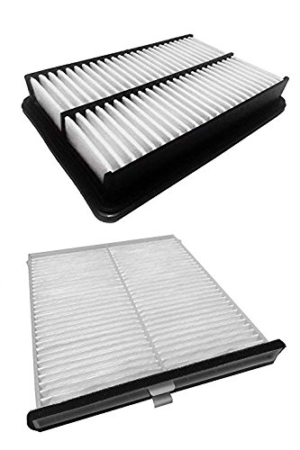 Cleenaire CEAF1 Engine and Cabin Air Filter Combo Pack Kit for Skyactive 14 to Current Mazda 3, Mazda 6, Mazda CX-5 - White