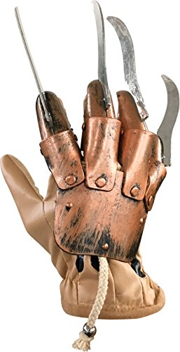 [A Nightmare on Elm Street Deluxe Freddy Glove] (Horror Costumes For Kids)