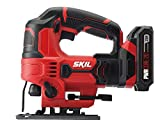 Cheap SKIL 20V 7/8 Inch Stroke Length Jigsaw, Includes 2.0Ah PWRCore 20 Lithium Battery and Charger – JS820302