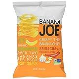 Banana Joe Crispy Thin Layers Banana Chips, Sriracha, 50g