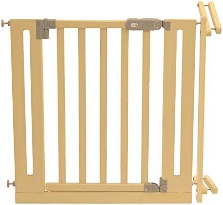 Roba-Kids 1529 - Barrera de seguridad para escalera con acabado de madera: Amazon.es: Bebé