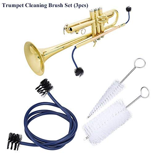 Trumpet Brushes Set Musical Instrument Maintenance Accessory Trumpet Cleaning Kit