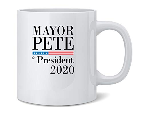 Mayor Pete For President Buttigieg 2020 Campaign Coffee Mug Tea Cup 12 oz