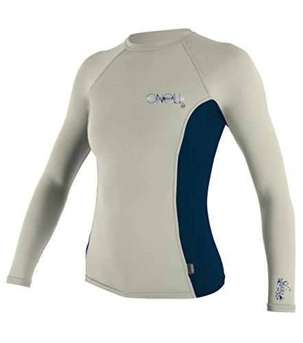 O'Neill Women's UV Sun Protection Long-Sleeve Rashguard