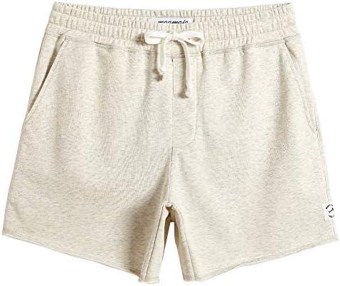 MaaMgic Mens Athletic Gym Shorts 5.5 Elastic Waist Casual Pajama Pocket Jogger Men Workout Short Pants