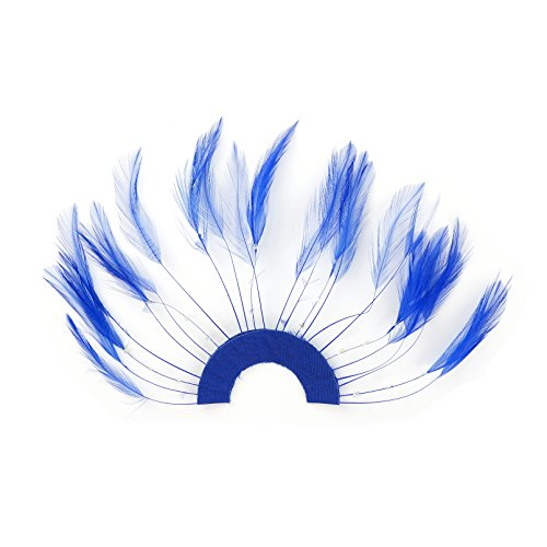 Zucker Feather (TM) - Feather Hackle Plates Solid Colors - Royal