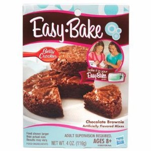 Hasbro Easy Bake Chocolate Brownie Dessert MIX Kids Oven
