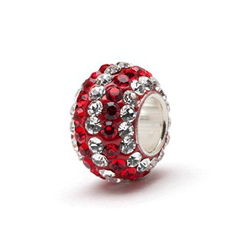 University of Alabama Charm Bracelet | Crimson Tide Gifts | Stainless Steel Alabama Jewelry | Alabama Logo Charm Bracelet by Stone Armory (Image #6)'
